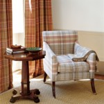 Colefax and Fowler 'Oban Plaid' (brochure image)
