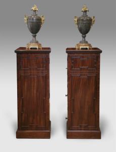 Regency Mahogany Pedestals